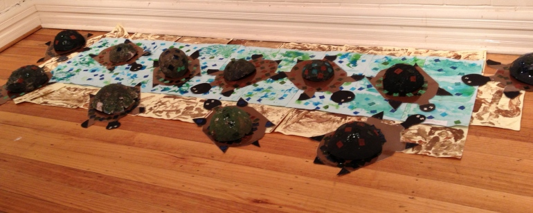 River Turtles Procession 2