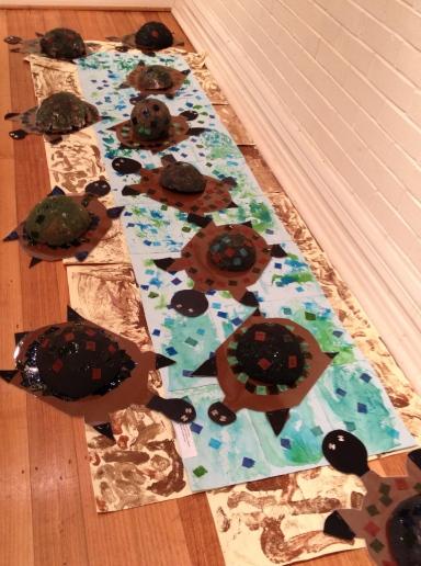 River Turtles Procession 3