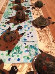 River Turtles Procession 1